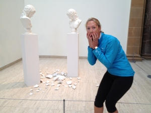 Oops -be careful at NSW Art Gallery!
